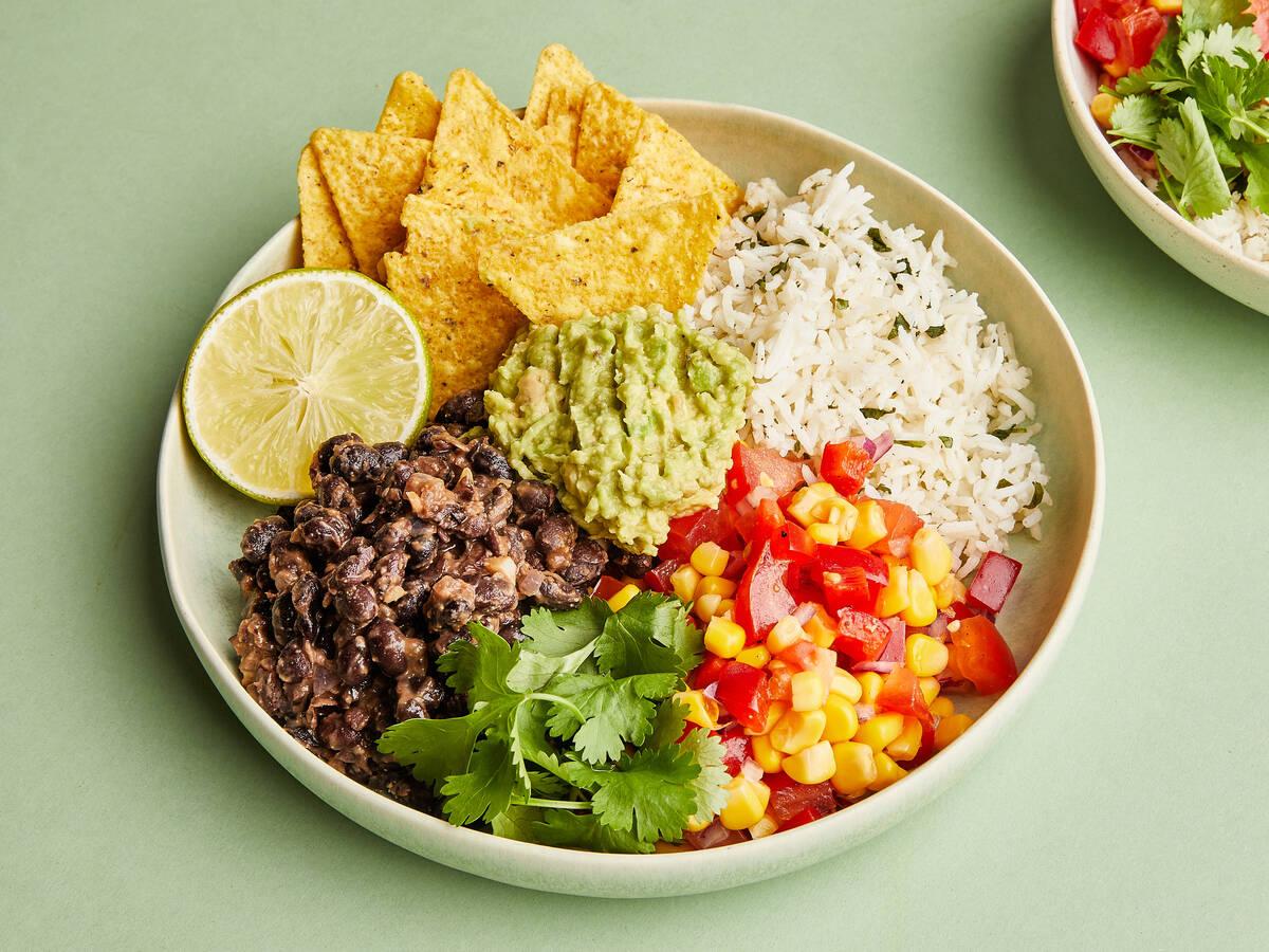 Vegetarische Burrito-Bowl