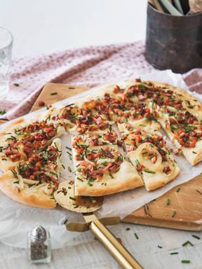 Shortcut tarte flambée
