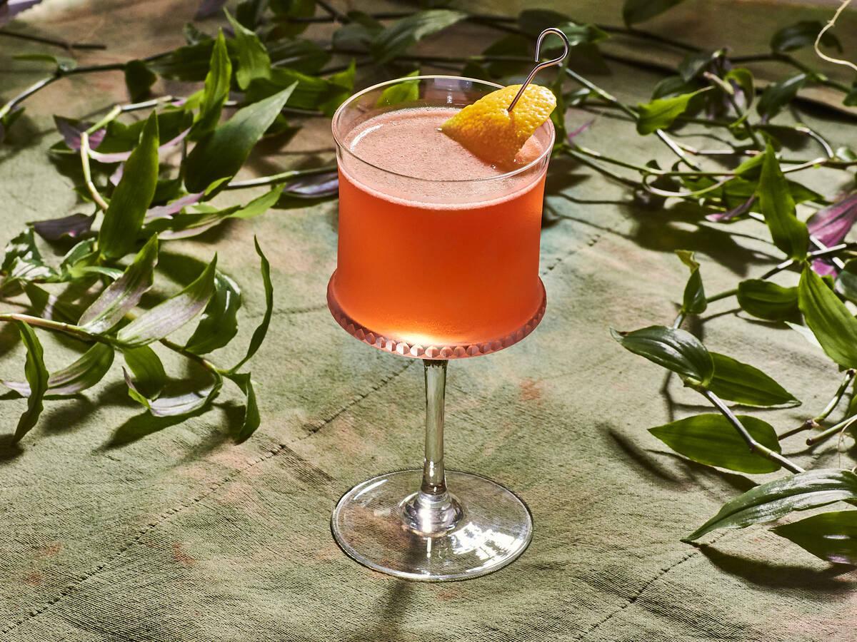 Aperol-Holunder-Cocktail