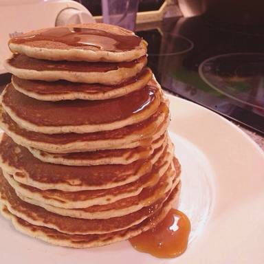 All-American pancakes
