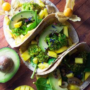 Avocado-Mango-Wrap