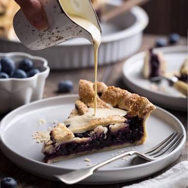 Blaubeer-Pie