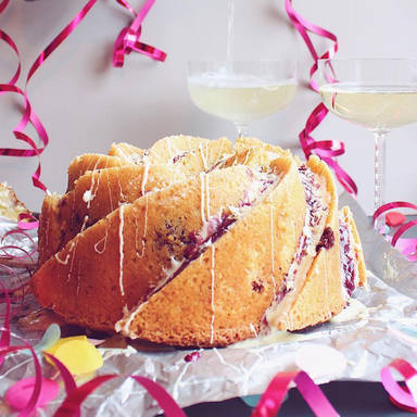 Champagner bundt cake