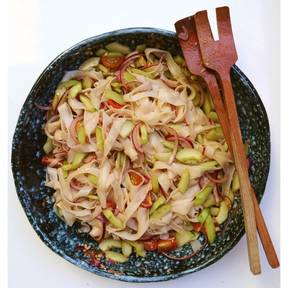 Chinese glass noodle salad