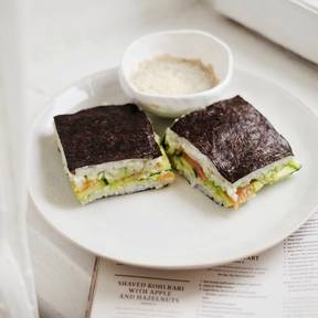 Easy nori sandwich