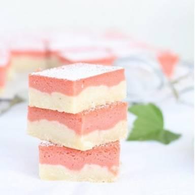 Rhubarb bites