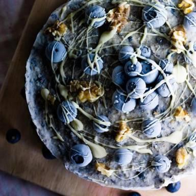 冰盒蓝莓芝士蛋糕