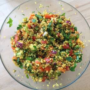 Kisir – Turkish bulgur salad