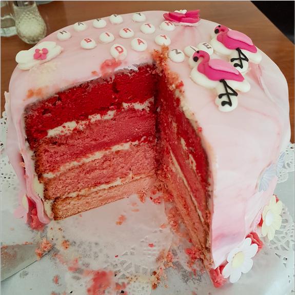 Ombré Torte