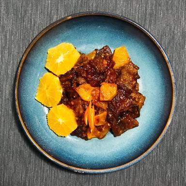 Rinderfilet mit Orange