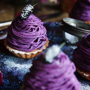 Purple Mont Blanc