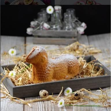 复活节羊肉蛋糕