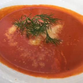 Quick tomato soup