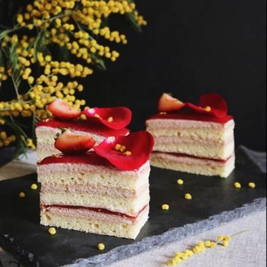 覆盆子蛋糕