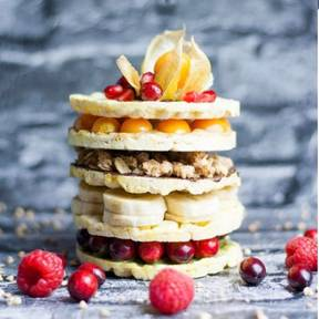 Rice cake tower
