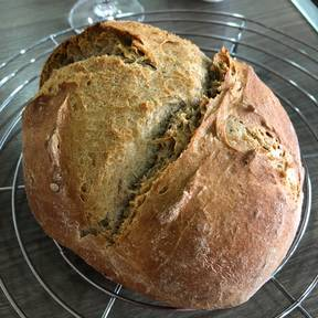 Rustic German bread