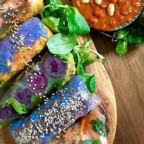 夏日蔬菜卷