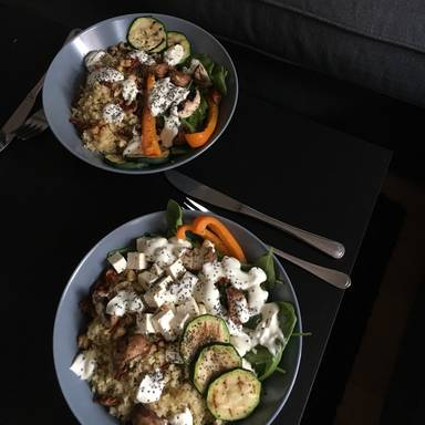 超级健康食物沙拉