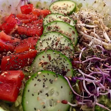 Gemischter Gemüsesalat